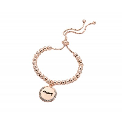 Armband mit Amore-Anhänger Rosegold