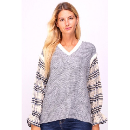 Two in One Pullover